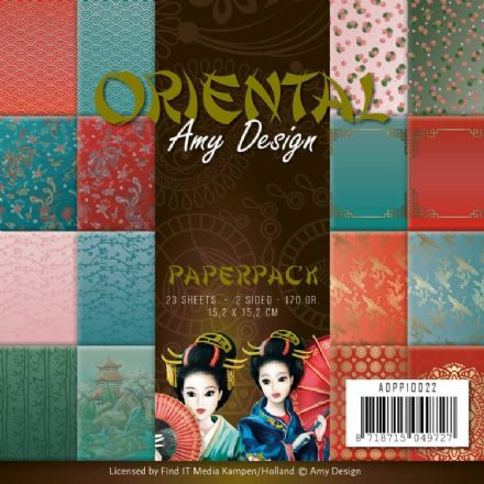 ADPP10022 ~ Oriental ~ Paper Pack ~ Amy Design